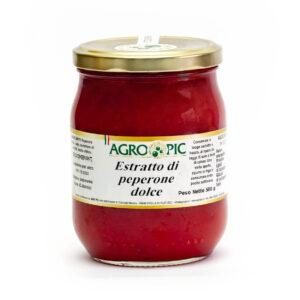 estratto di peperone dolce