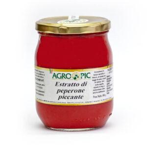 estratto di peperoncino piccante