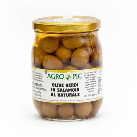 olive in salamoia al naturale